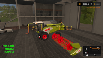 Комбайн Claas Avero160 v 1.2.0.0 для Farming Simulator 2017