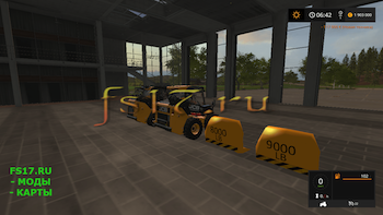 Пак противовесов JCB BACK WEIGHTS V1.0 для Farming Simulator 2017