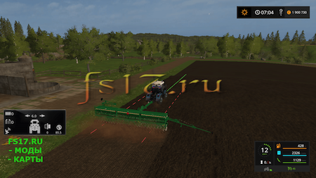 Сеялка GREAT PLAINS V1 для Farming Simulator 2017