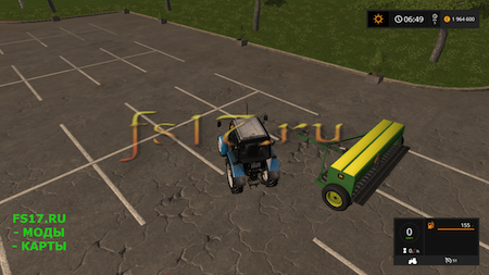 Сеялка JOHN DEERE 8350 V1.0.0.0 для Farming Simulator 2017