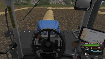 Скрипт CRUISE CONTROL ADDON V1.0.0.0  для Farming Simulator 2017