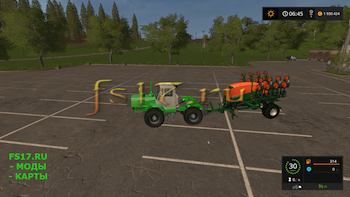 Сеялка AMAZONE EDX 6000 TC V1.1 для Farming Simulator 2017