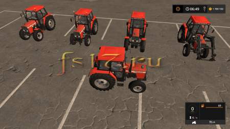 Трактор URSUS 4512 V1.1 для Farming Simulator 2017