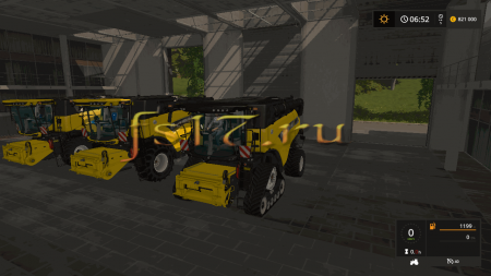 Комбайн NEW HOLLAND CR9.90 V1.1 для Farming Simulator 2017