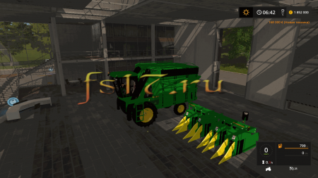 Хлопкоуборочный комбайн JOHN DEERE 9956 COTTON HARVESTOR V1.1 для Farming Simulator 2017