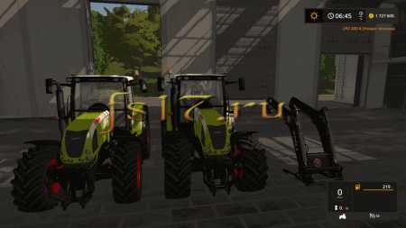Трактор CLAAS ARION 600 (610, 620, 630) V2.0 для Farming Simulator 2017