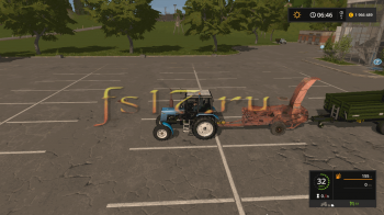 Фуражир v 1.2 для Farming Simulator 2017