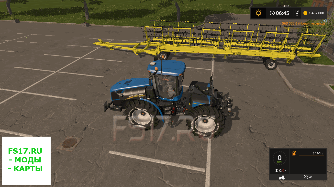 Культиватор Degelman StrawMaster 120 v 1.0 для Farming Simulator 2017