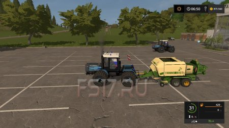 Тюкопресс KRONE BIG PACK 120-80 V2.1.0.0 для Farming Simulator 2017