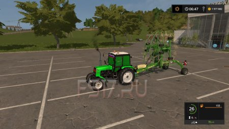 Валковая жатка KRONE SWADRO TC930 V1.0.0.0 для Farming Simulator 2017