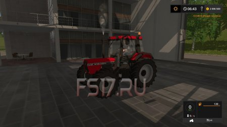 Трактор CASE IH 845 XL V1.0 для Farming Simulator 2017