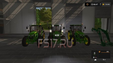 Трактор JOHN DEERE 5085M V1.4 для Farming Simulator 2017