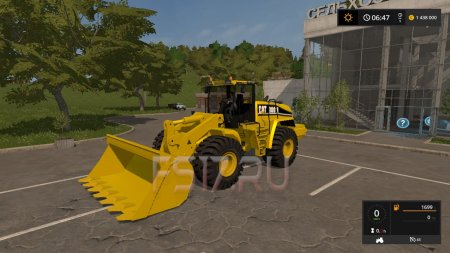 Погрузчик CATERPILLAR 980H V1.0 для Farming Simulator 2017