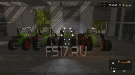 Трактор FENDT VARIO 1000 FULL EDITION V2.0 для Farming Simulator 2017