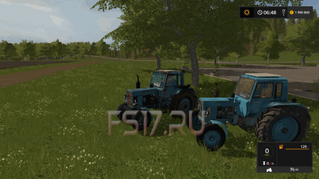 Пак тракторов МТЗ V1.0 для Farming Simulator 2017
