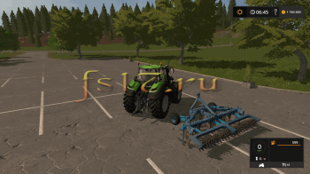 Плуг ПЧ 4.5 V1.4 для Farming Simulator 2017
