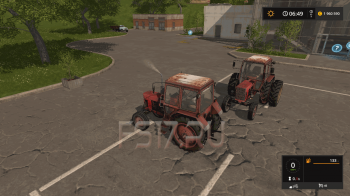 Трактор МТЗ - 80 v 1.3 для Farming Simulator 2017