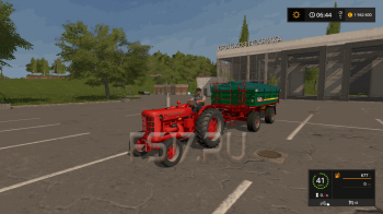 Трактор MCCORMICK-DEERING W9 V1.1 для Farming Simulator 2017