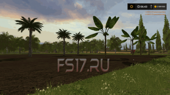 Пак пальм v 1.0 для Farming Simulator 2017