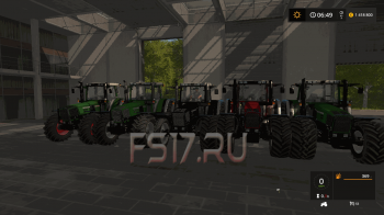 Трактор FENDT FAVORIT 800 OFFICIAL FINAL V3.2 для Farming Simulator 2017