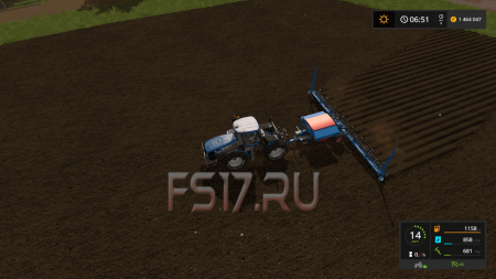Сеялка LEMKEN SOILTAIR 12 MOD V1.4 для Farming Simulator 2017