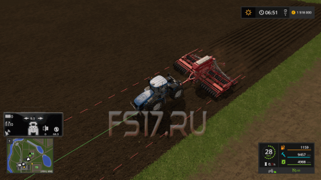 Сеялка PRONTO 9DC SMC V1.0 для Farming Simulator 2017