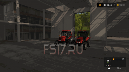 Пак тракторов МТЗ 826 v 2.1 для Farming Simulator 2017