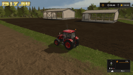Пак навесов PLACEABLE SHEDS V1.0.0.0 для Farming Simulator 2017