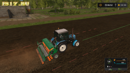 Сеялка AMAZONE D9 3000 SUPER V1.0.0.0 для Farming Simulator 2017