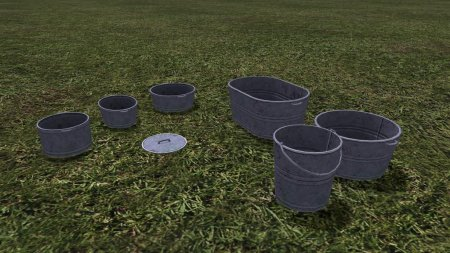 Объект GE METAL PAIL (PREFAB) V1.0.0.0 для Farming Simulator 2017