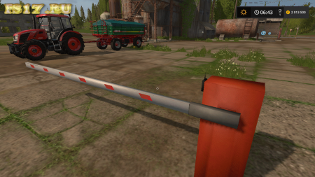 Пак шлагбаумов PLACEABLE BARRIER V1.0.0.0 для Farming Simulator 2017