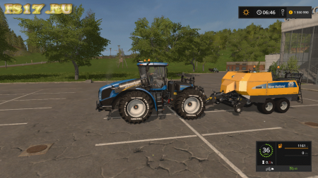 Тюкопресс NEW HOLLAND BIG BALER 960A V1.0.0.0 для Farming Simulator 2017