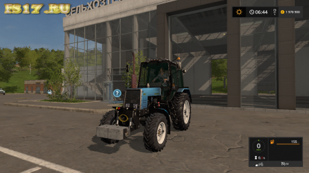 Противовес 500KG WEIGHT V1.0.0.0 для Farming Simulator 2017
