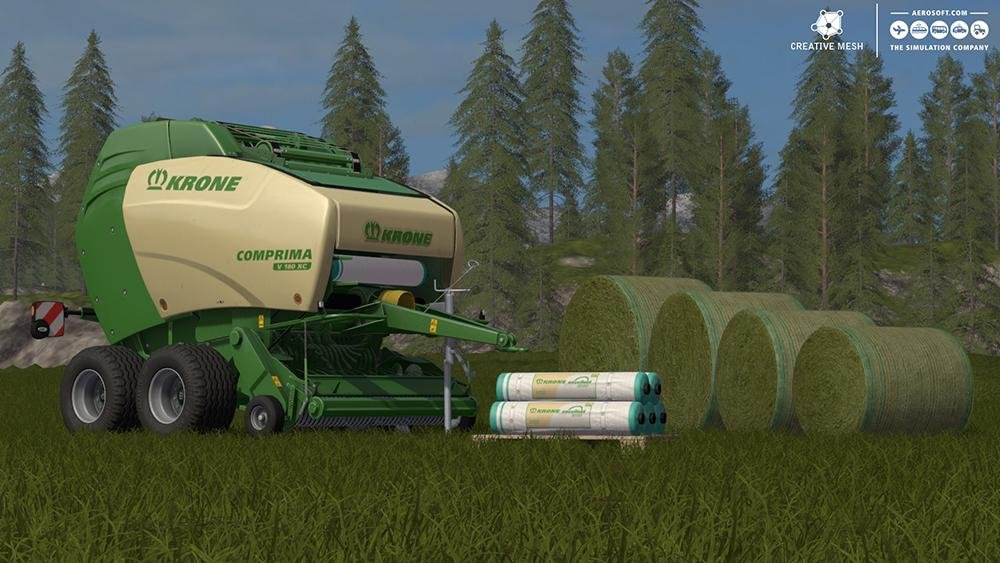ADD-ON STRAW HARVEST V1.0 для Farming Simulator 2017