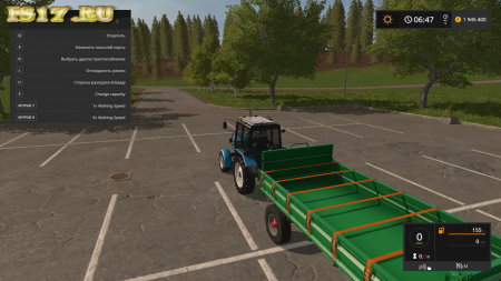 Прицеп KROGER AGROLINER HKD 150 V1.0.0.0 для Farming Simulator 2017