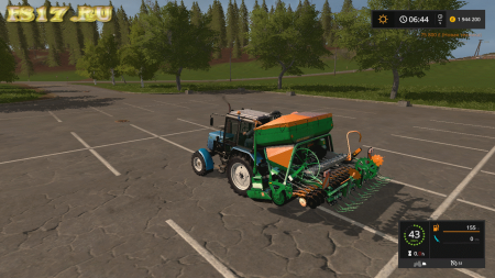 Сеялка AMAZONE AD-P303 GREAT v 1.1 для Farming Simulator 2017