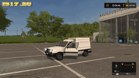 Автомобиль Renault_Express v 1.0 для Farming Simulator 2017