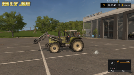 Трактор HUERLIMANN H6170T V1.1.0.0 для Farming Simulator 2017