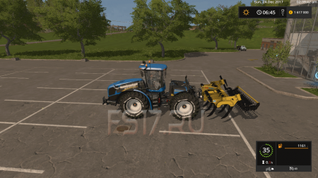 Плуг ALPEGO SUPER CRACKER KF9-400 V1.2 для Farming Simulator 2017