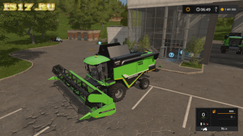 Комбайн DEUTZ-FAHR HTS 6095 V1.0.0.1 для Farming Simulator 2017