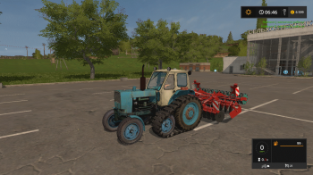 Трактор ЮМЗ 6 КЛ v 1.5 для Farming Simulator 2017