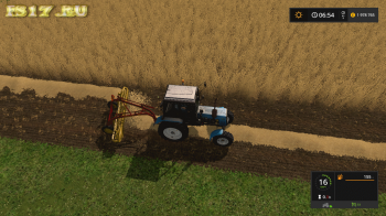 Валковая жатка NEW HOLLAND ROLLABAR RAKE V1.0 для Farming Simulator 2017