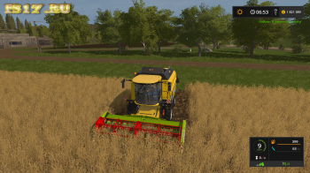 Жатка CLAAS C540 FOLDING CUTTER V1.1 для Farming Simulator 2017