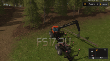 Форвардер VALMET 840 FORWARDER V1.0 для Farming Simulator 2017
