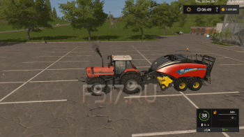 Тюкопресс NEW HOLLAND BALER ED PACK V1.0 для Farming Simulator 2017