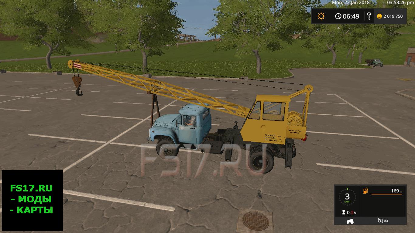 Скачать кран для фермер симулятор 2018