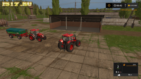 Навес MACHINE SHOP V1.0.0.0 для Farming Simulator 2017