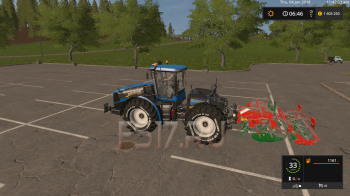 Культиватор AGROMASZ PD30 V2.0 для Farming Simulator 2017