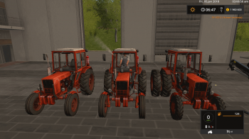 Пак тракторов МТЗ 80/82 v 1.3 для Farming Simulator 2017