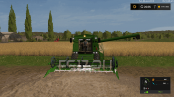 Комбайн JOHN DEERE 2064 V2.0 для Farming Simulator 2017